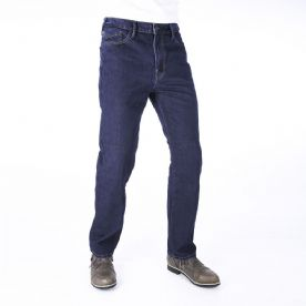 Oxford straight fit Jeans Rinse Blue Short Leg